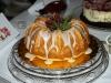 Candy Cane Lane Cake