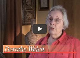 Dorothy Welch Testimonial